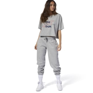 Спортивные брюки Classics Graphic medium grey heather/medium grey heather DT7272