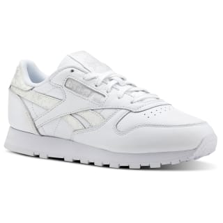 Classic Leather Sidestripes-White/Lgh Grey CN4021