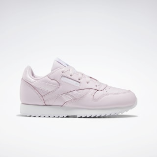 Classic Leather Shoes - Preschool Pixel Pink / White / None EG5970