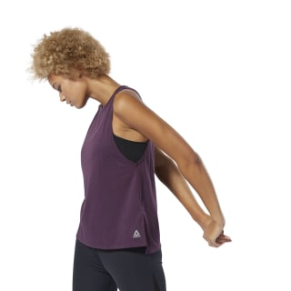 Burnout Tank Top Urban Violet DU4089