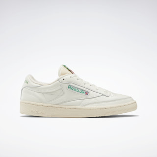 Club C 85 Vintage Chalk / Paperwhite / Glen Green / Exclnt Red V67899