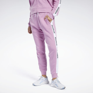 Pantalón Training Essentials Linear Logo Jasmine Pink FK6690