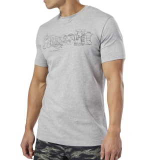 Camiseta Reebok Science CrossFit® Medium Grey Heather EA3198