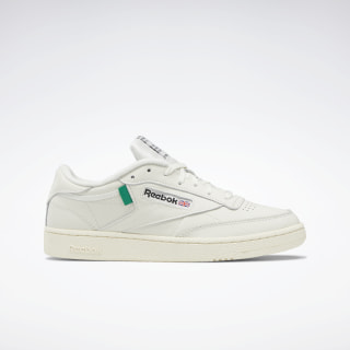 Club C 85 Shoes Chalk / Classic White / Glen Green FX1378