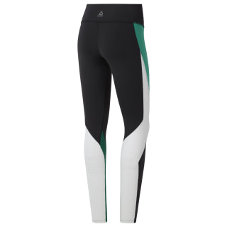 Reebok Lux Tights 2.0 Black / Clover Green DY8161
