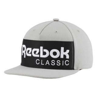 CAP Classic Leather FOUNDATION CAP mgh solid grey/black DH3415
