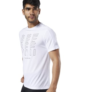 One Series Running Reflective Move Tee White EC2534