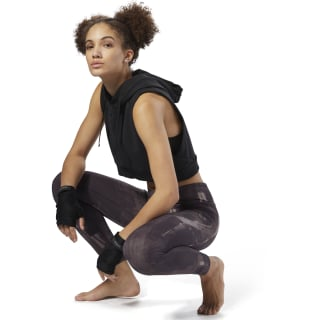 Reebok Combat Lux Bold Tights Purple D96031