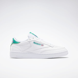 Club C 85 Shoes White / Emerald / Grape Punch FV2589