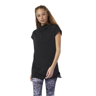 WOR Meet You There Sleeveless Hoodie Black DU4827