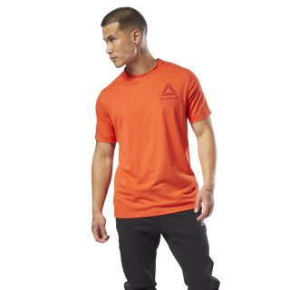 SpeedWick Graphic MOVE T-shirt Carotene D93767