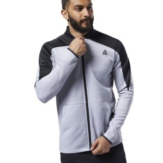 One Series Training Spacer Track Jacket Mgh Solid Grey EC0998