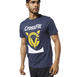 T-shirt Prescription Reebok CrossFit® Heritage Navy EC1462