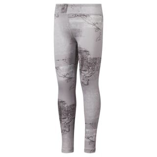 Girls' Reebok Adventure Studio Leggings Lavender Luck DH4292