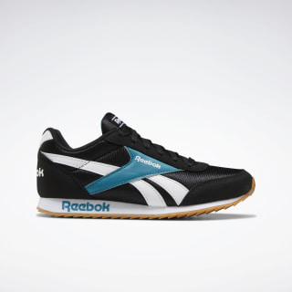 Reebok Royal Classic Jogger 2.0 Shoes Black / Seaport Teal / White EF3416