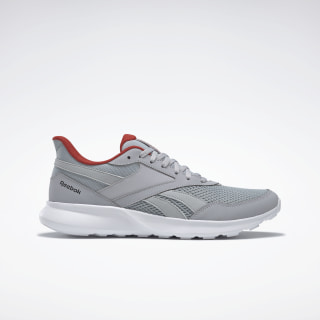 Reebok Quick Motion 2.0 Shoes Cold Grey 2 / White / Legacy Red EF6387