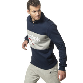 Classic Vector Quarter Zip Collegiate Navy DY1120