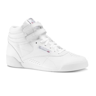 Freestyle Hi - Kids White/Silver CN2553