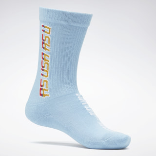 Reebok by Pyer Moss Crew Socks Fluid Blue FS9132