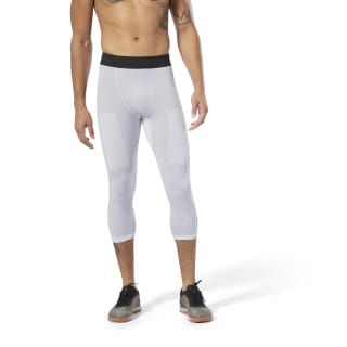 Reebok CrossFit® MyoKnit 3/4 Tights Light Grey Heather / Cool Shadow DP4572
