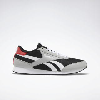 Reebok Royal Classic Jogger EV TRUE GREY 3 / BLACK / RED / WHT DV8324