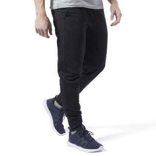 Pantaloni jogger Training Essentials Logo Black FI1945