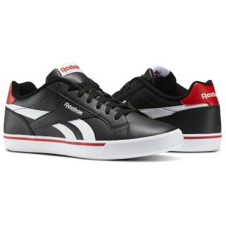 Tênis Royal Complete Low Black/White/Riot Red AR2427
