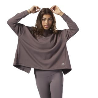 Oversized Crewneck Almost Grey CZ9493
