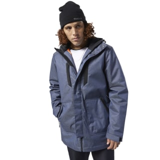 Парка Outerwear Padded Blue/heritage navy EB6981