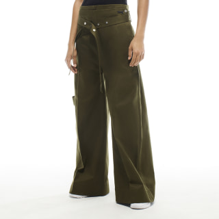 VB Fashion Trousers Vb Army Green FQ7197