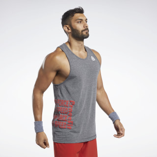 Reebok CrossFit® ACTIVCHILL+COTTON Tank Top Black FK4308