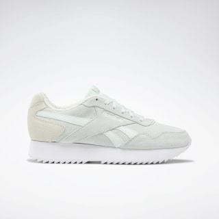 Reebok Royal Glide Ripple Double Shoes Emerald Ice / Alabaster / White DV6671