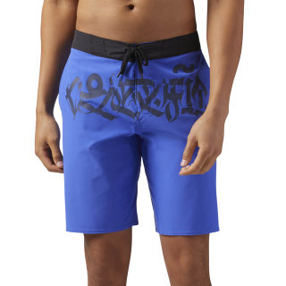 Reebok CrossFit Super Nasty Shorts Acid Blue CD7623