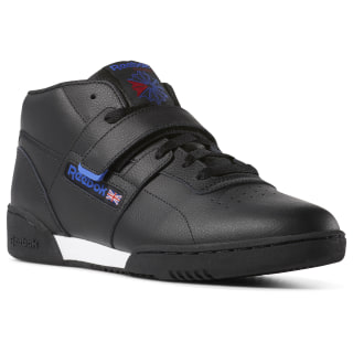 Workout Clean Mid Strap Black / Crushed Cobalt / Primal Red / White CN7408