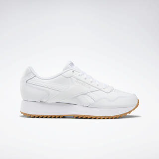 Reebok Royal Glide Ripple Double Shoes White / Steel / Gum DV6673