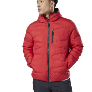 Пуховик Outerwear Synthetic rebel red DX2420