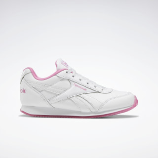 Reebok Royal Classic Jogger 2.0 Shoes White / Posh Pink / None EF3404