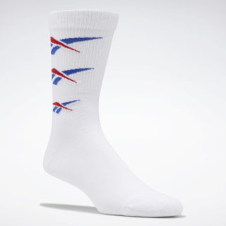 Classics Repeat Vector Socks White FP7946
