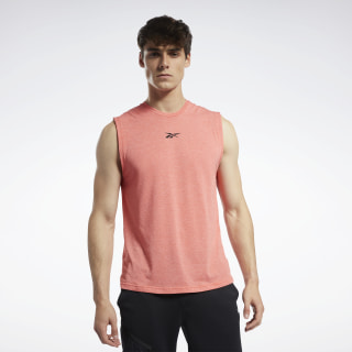 ACTIVCHILL+COTTON Sleeveless Tee Vivid Orange FK6345