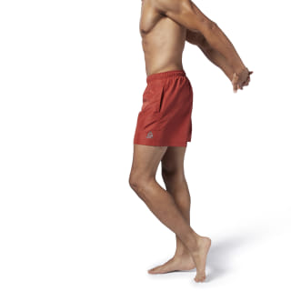 Beachwear Basic Boxer Shorts Mason Red EB6704
