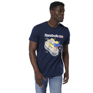 T-shirt Classics Callout Graphic Collegiate Navy DT9445