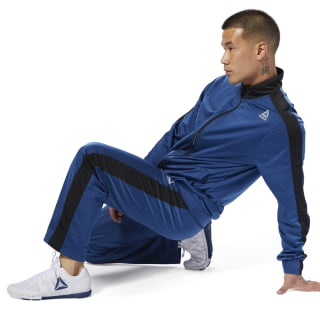 Tricot Tracksuit Bunker Blue CY4864