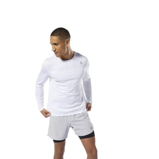 Run Essentials Tee White DU4301