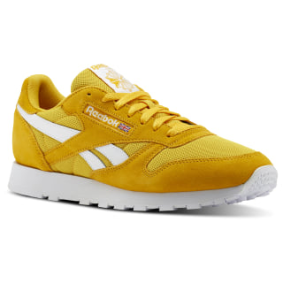 Classic Leather Estl-Fierce Gold / White CN5017