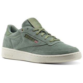 Reebok Club C 85 Montana Cans collaboration Green / Manilla Light / Chalk CM9297