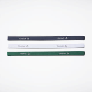 One Series Training 3-Pack Thin headband Heritage Navy / White / Clover Green EC5456