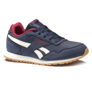 REEBOK ROYAL GLIDE SUEDE Collegiate Navy / Cranberry Red / Chalk / Gum CN4914