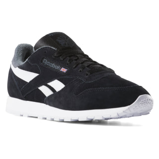 Classic Leather Black/True Grey CN7107