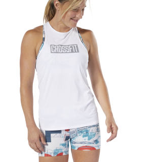 Top Regata F Crossfit Ac white DU5106