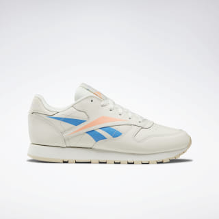 Classic Leather Shoes Chalk / Cream White / Sunglow DV8500